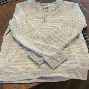 Womens Carhartt Space Dye sweatshirt NWOT L